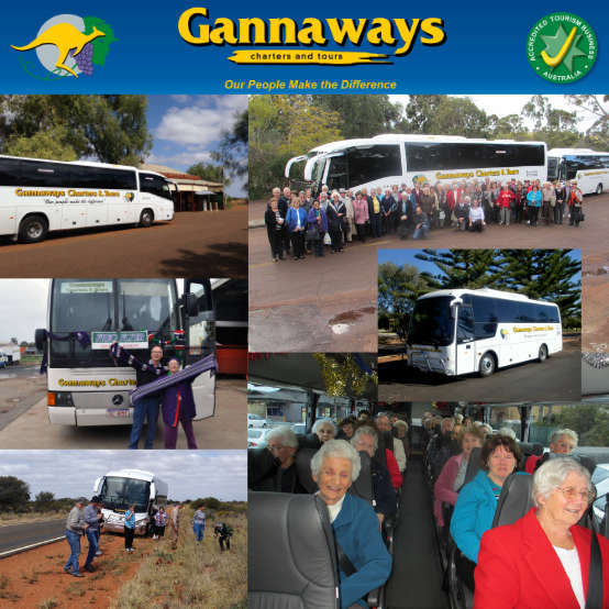 Gannaways Charters & Tours Company Logo by Gannaways Charters & Tours in Busselton WA