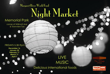 Margaret River World Food Night Markets