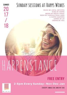 Happenstance – Happs Wines Sunday Sessions