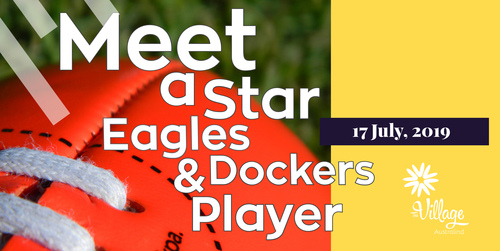 Meet a Star Eagles & Dockers Player | Footy Handball Competition