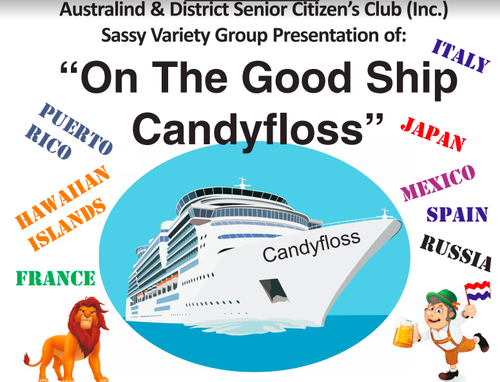 On The Good Ship Candyfloss | Eventss Australind on 20190526
